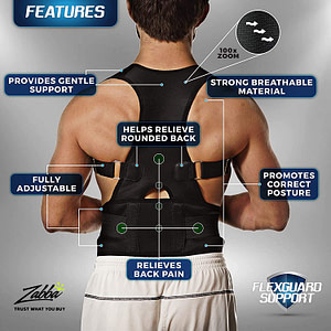 Back Brace Posture Corrector for Men & Women